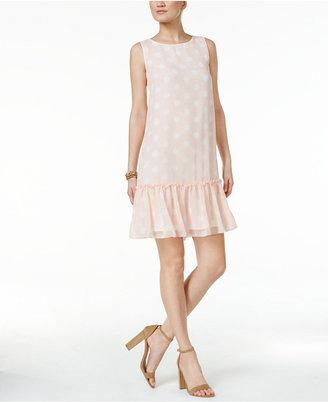Tommy Hilfiger Polka-Dot Shift Dress $99 thestylecure.com