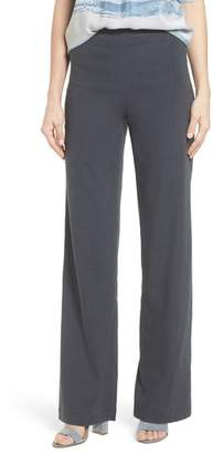 Nic+Zoe Traveling Linen Blend Stretch Pants