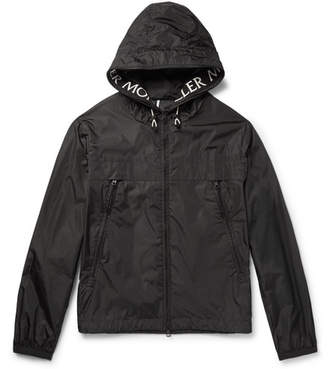 Moncler Massereau Nylon Hooded Jacket - Black
