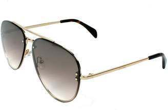 Celine Small Mirror CL 41392 J5G N5 Metal Aviator Sunglasses
