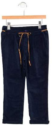 Knot Girls' Corduroy Tie-Accented Pants