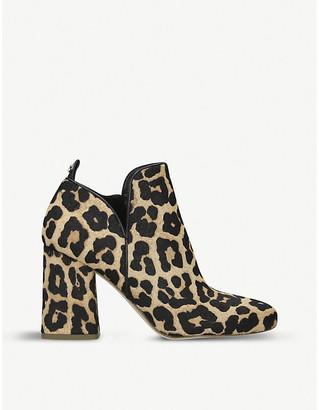 MICHAEL Michael Kors Dixon leopard print ankle boots