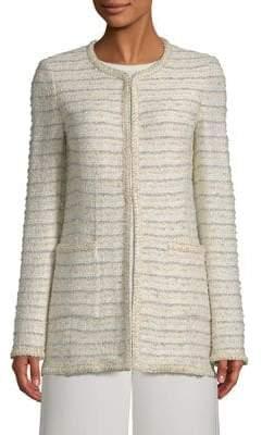 St. John Blended Boucle Knit Jacket