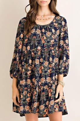 Umgee USA California Coral-Poppy Dress