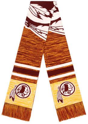 Redskins Forever Collectibles Washington Knit Color Blend Big Logo Scarf