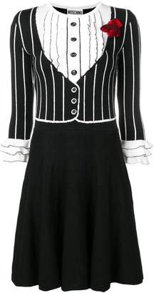 Moschino knit printed dress