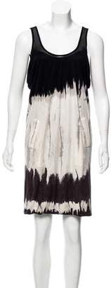 Yigal Azrouel Gathered Silk Dress