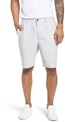 CALIBRATE Elastic Waist Seersucker Shorts