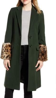 Helene Berman 'Future College' Notch Collar Coat
