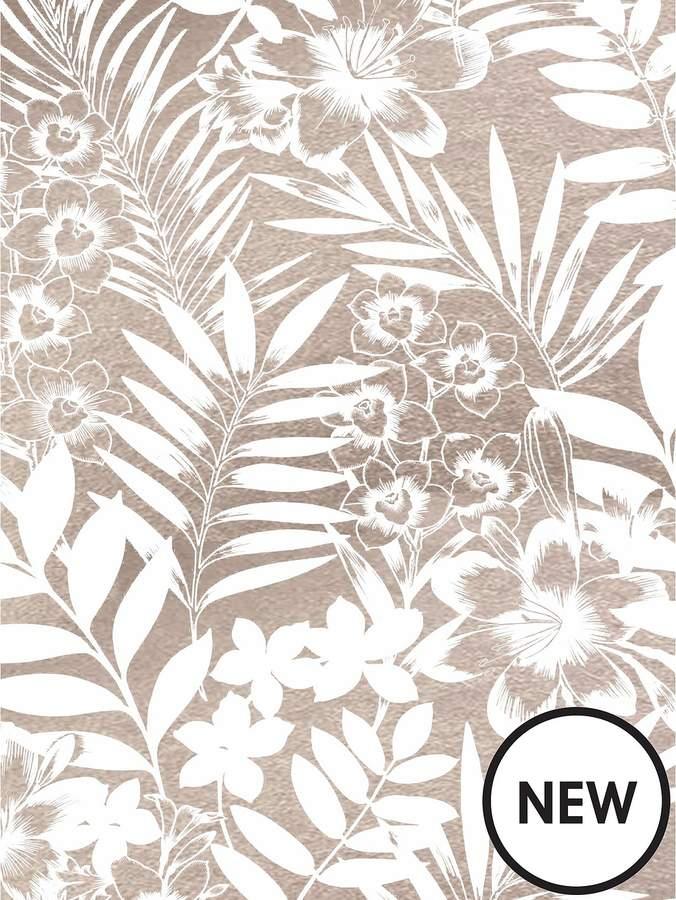 Tropical Wallpaper - Blush