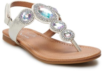 Touch Of Nina Touch of Nina Kiddo Girls' Jeweled Dress Sandals