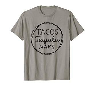 Taco Shirt Tequila T-Shirt Funny Gift for Her Naps Saying