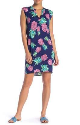 TORI RICHARD Alexia Sleeveless Print Dress