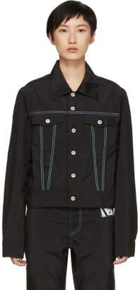 Kanghyuk Black Nylon Airbag Jacket