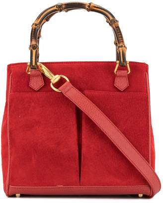 Gucci Pre-Owned bamboo handle tote