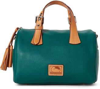 Dooney & Bourke Green Patterson Kendra Leather Satchel
