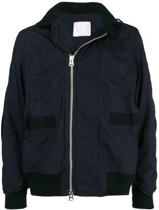 Sacai Oxford jacket