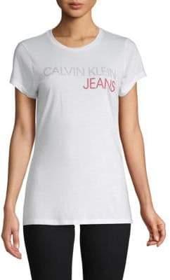 Calvin Klein Jeans Shine Logo Tee