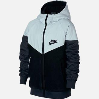 Nike Boys' Windrunner Sherpa Full-Zip Jacket