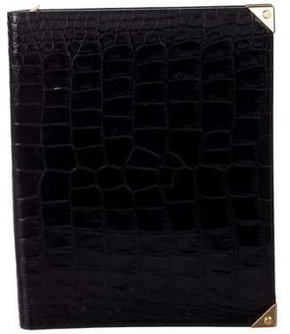 Alexander Wang Embossed Leather iPad Case