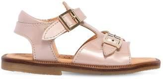 Ocra Patent Leather Sandals