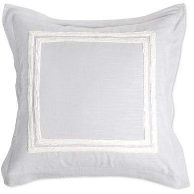 Villa Home Patrina European Pillow Sham in Grey/Ivory