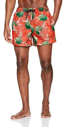 1e0c85981d Mens Red Swim Shorts - ShopStyle UK