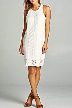 Renee C Ivory Beauty Dress