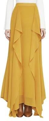 BCBGMAXAZRIA Amalli Ruffle Maxi Skirt