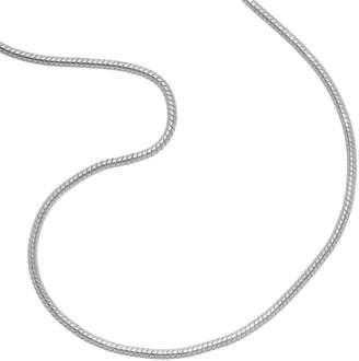Primrose PRIMROSE Sterling Silver Snake Chain Necklace