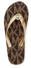 MICHAEL Michael Kors Mk Flip Flops (Size 7)