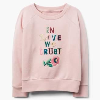 Gymboree Trust In Love Sweatshirt