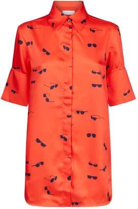 Victoria Beckham Victoria Sunglasses Print Shirt