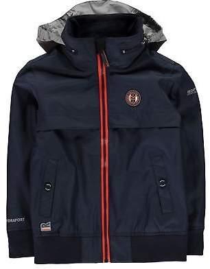 Regatta Kids Boys Makar Jacket Junior Waterproof Coat Top Long Sleeve Hooded Zip