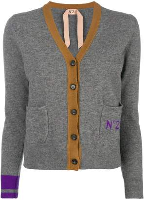 No.21 virgin wool cardigan