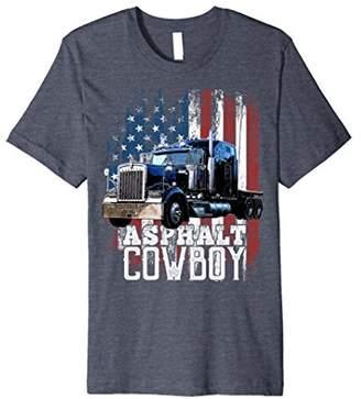 Asphalt Cowboy Trucker Truck Driver Shirt Truck Driver Gift