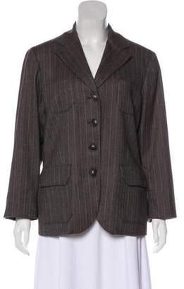 Loro Piana Virgin Wool Single-Breasted Blazer