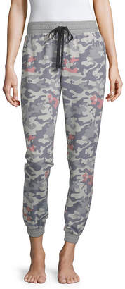 Disney Separates Womens French Terry Pajama Pants Mickey Mouse