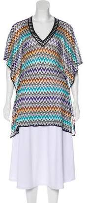 Missoni Mare Patterned Tunic Top