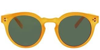 A New Day Women's Round Sunglasses - A New Day Orange