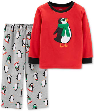 Carter's Toddler Boys 2-Pc. Penguin Pajamas