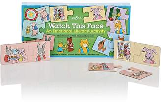 Eeboo WATCH THIS FACE PUZZLE PAIRS