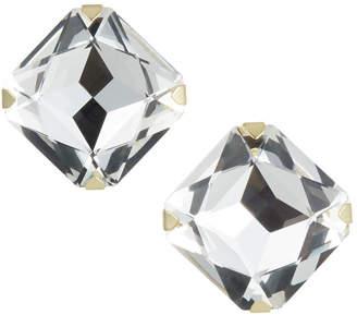 clear Stella & Ruby Square Gem Stud Earrings,