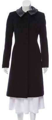 Gucci Wool Knee-Length Coat