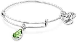 Alex and Ani Swarovski Crystal Birthstone Expandable Wire Bangle