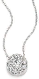Hearts On Fire Fulfillment Diamond& 18K White Gold Pendant Necklace