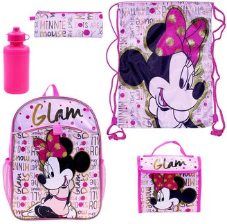 "Disney's Minnie Mouse ""Glam"" 5-pc. Backpack Set $34.99 thestylecure.com"