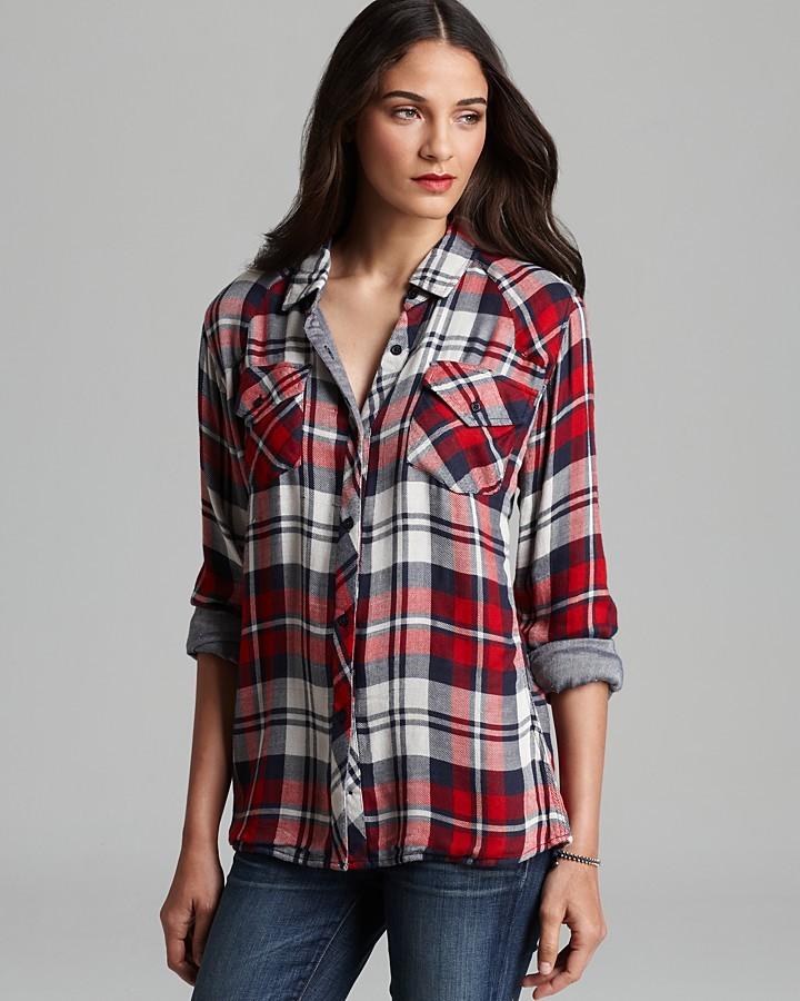 Shirt - Kendra Plaid