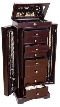 Mele Olympia Wooden Jewelry Armoire