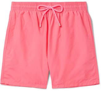 Vilebrequin Moorea Long-Length Water-Reactive Swim Shorts